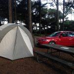 Camping at Big Lagoon County Park