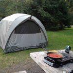 Camping at Ozette Lake