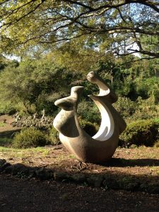 A sculpture at the (abandoned) Jeju Art Park