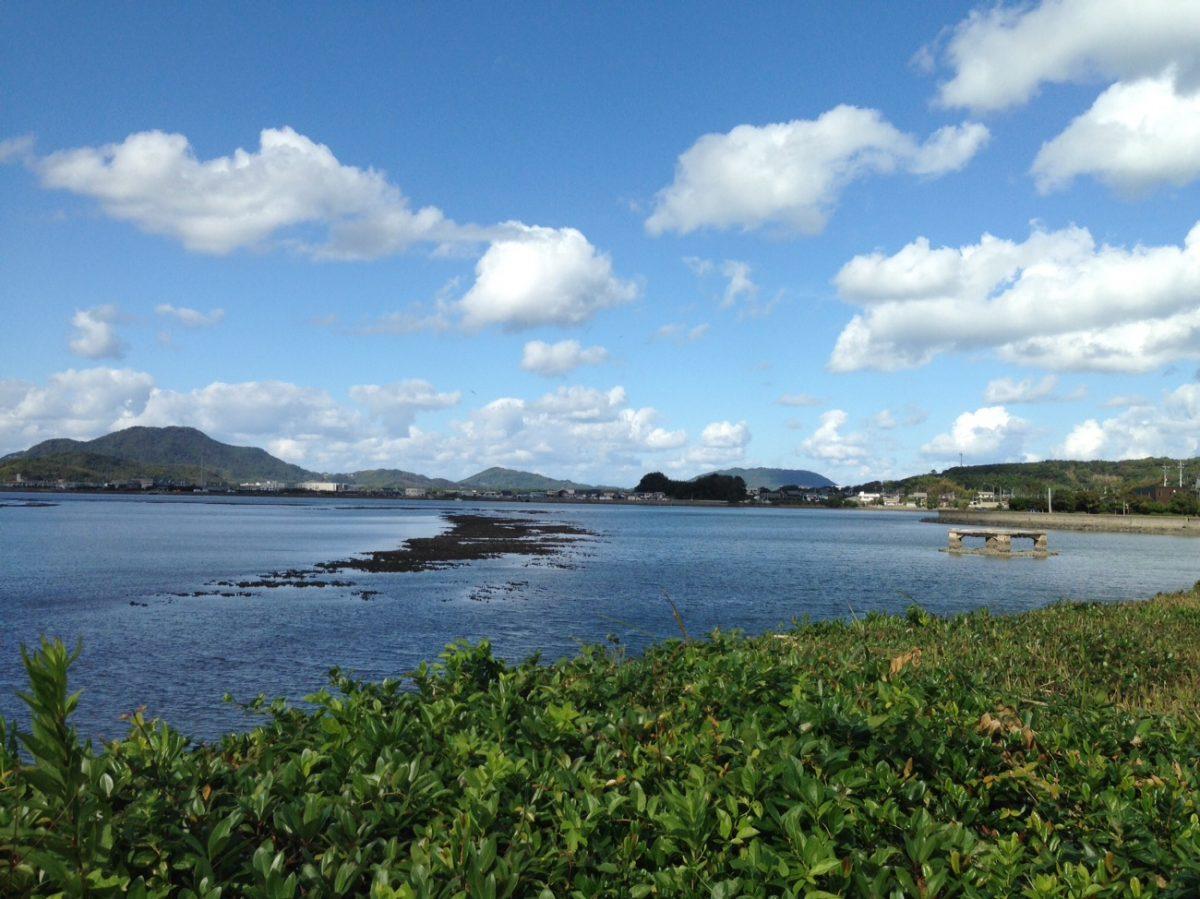 Blissful coastal biking to Karatsu