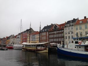 Nyhavn - apparently overrun by tourists in the summer