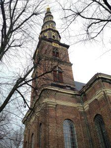Spiral steeple