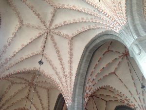 Vadstena's church ceiling