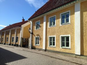 Vadstena's main square
