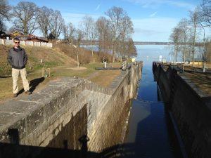 Canal locks!