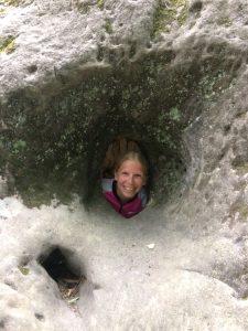 I found a hole!