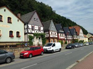 Traditional homes near Bad Schandau