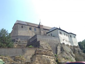 Hrad Kost from the other side