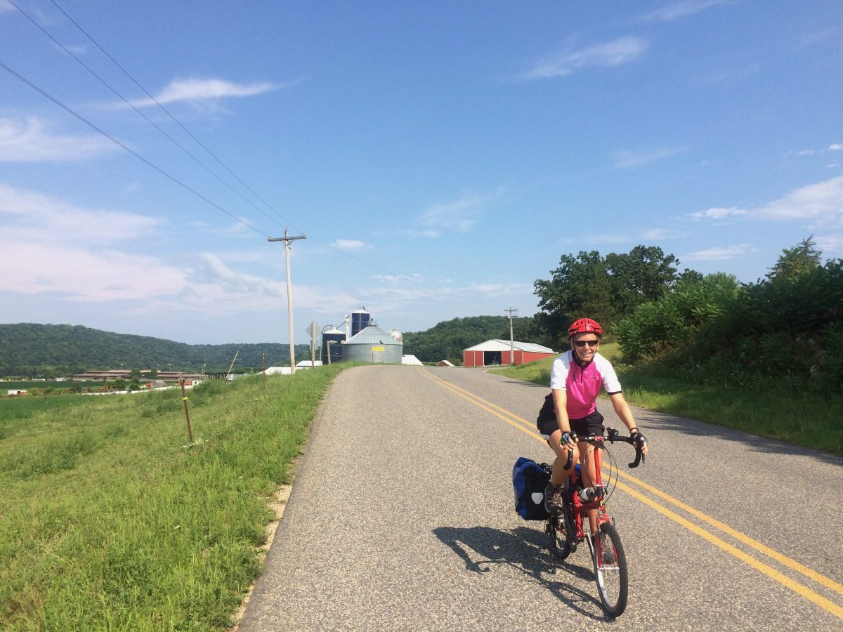 Bicycling Wisconsin part 2: Baraboo to the Mississippi and beyond