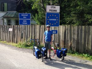 Entering Slovakia!