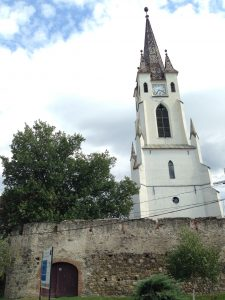 The church in Garbova