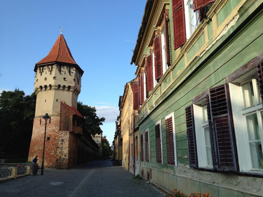 The walls of Sibiu