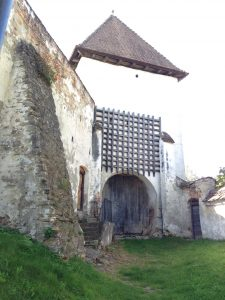 The portcullis at Hosman