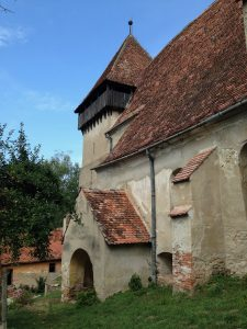 The fortified church at Copsa Mare