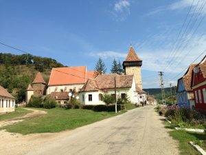 The fortified church of Valchid