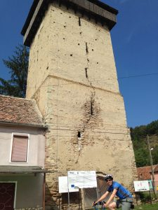The tower in Valchid