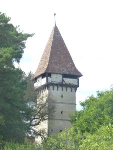 The tower in Alțâna
