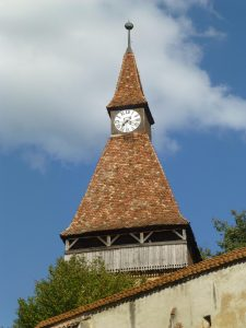 Biertan's clock tower