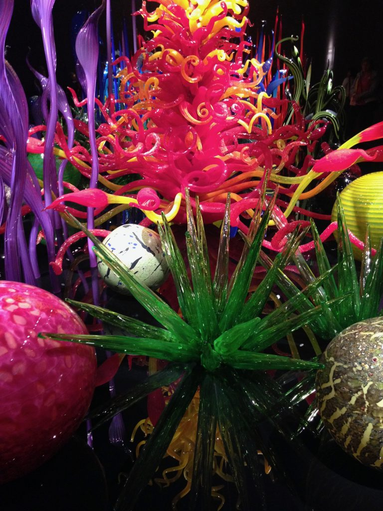 We went to the Chihuly museum ...