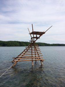 A traditional fishing (?) platform