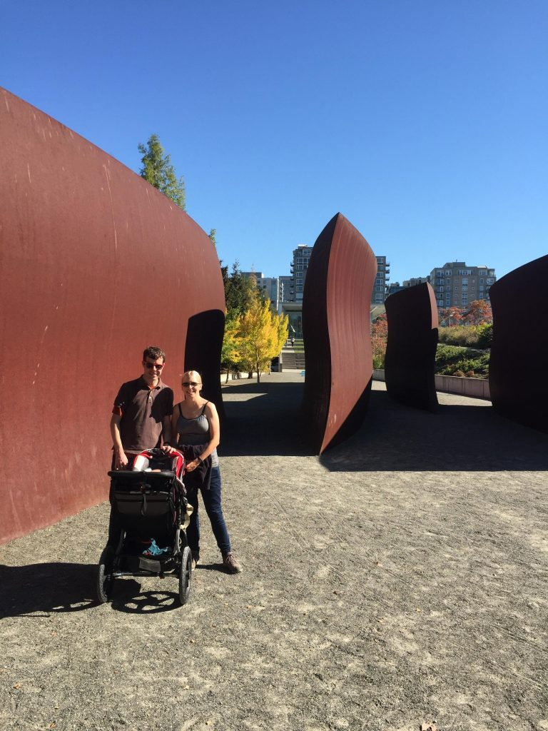 At the Olympic Sculpture Park
